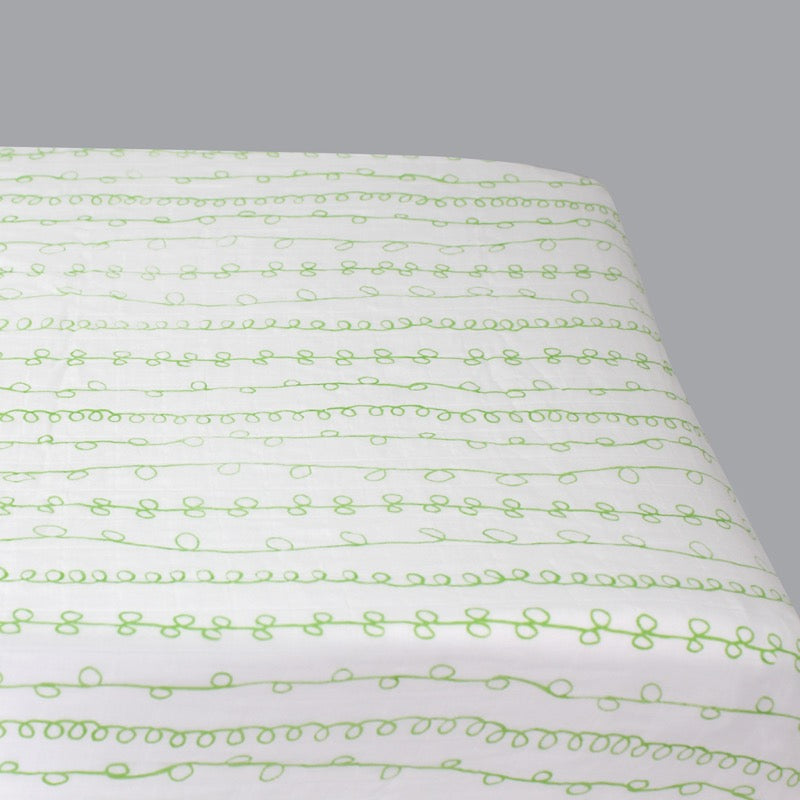 Magnolia Organics Changing Pad Cover - Curly Qs