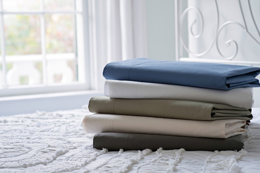 Magnolia Organics Percale Collection Sheet Set