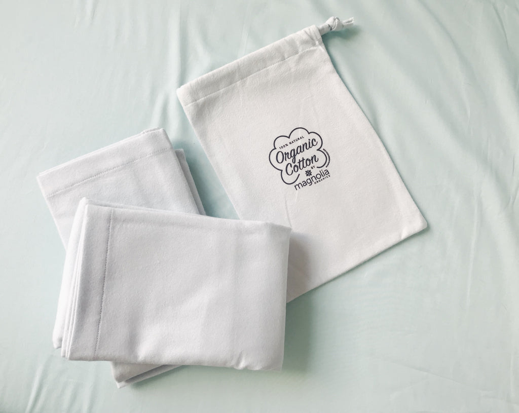 Magnolia Organics Organic Flannel Pillowcase Pair