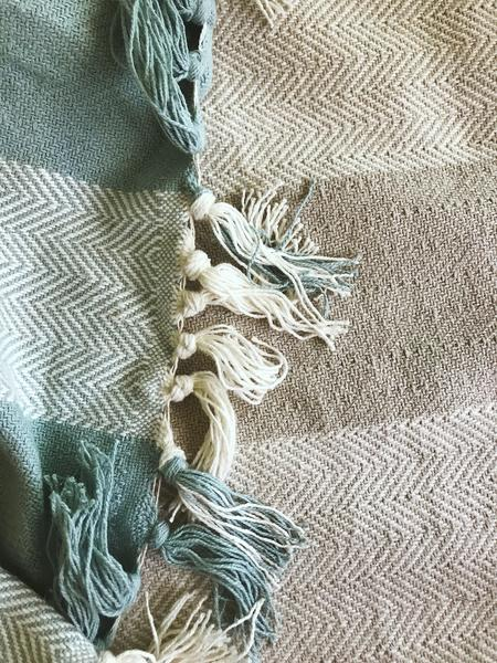 Magnolia Organics Cozy Organic Patterned Throw