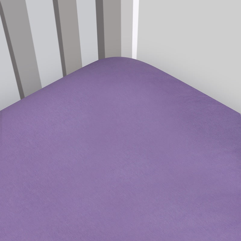 Magnolia Organics Organic Interlock Fitted Crib Sheet