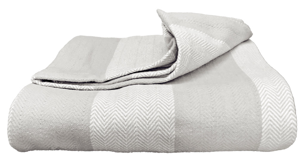 Magnolia Organics Patterned Blanket