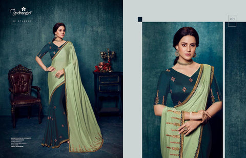 SILK SAREE WITH WORK