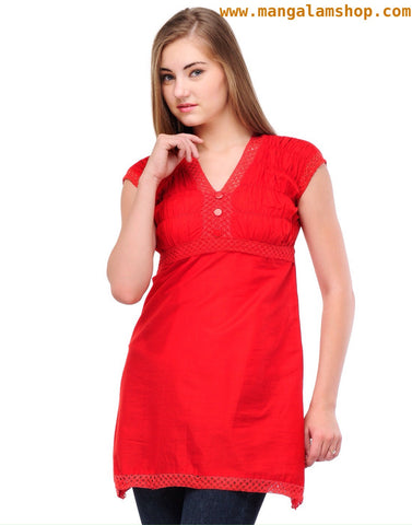 Casual Cotton Kurti - Mangalam