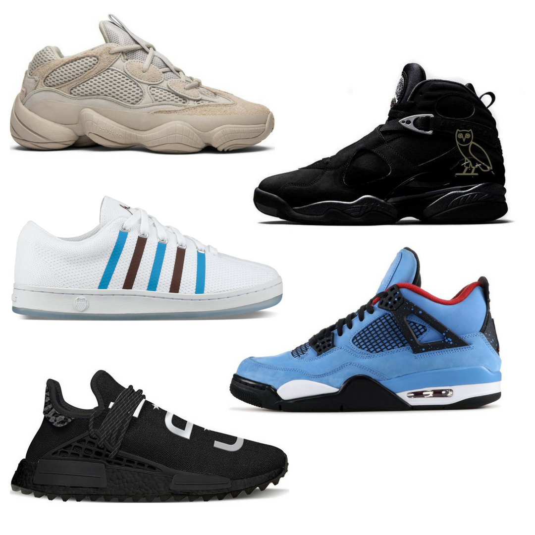Limited Edition Men's Sneaker Releases