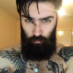 bearded and tattoo man