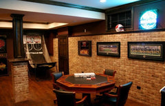 card table man cave