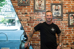 Alex barber and owner of the Barber Club in Docklands