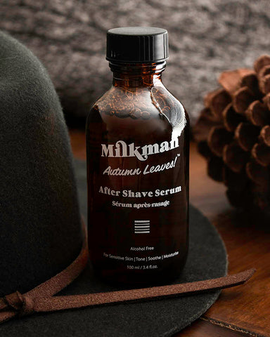 autumn leaves after shave serum