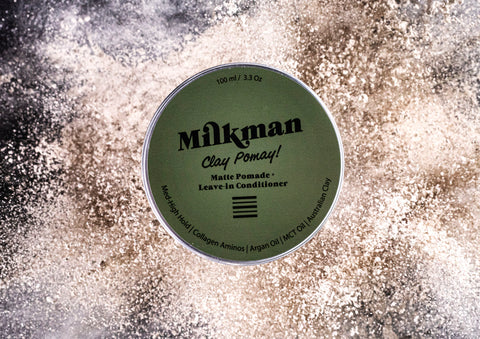 Milkman clay pomay matte clay pomade