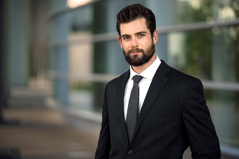 corporate short beard