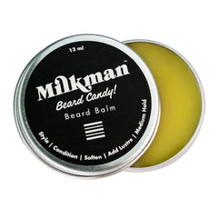 travel size beard balm, milkman grooming co.