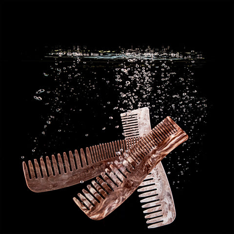 Milkman Grooming Co Enviro Comb made from recycled plastic bottle tops