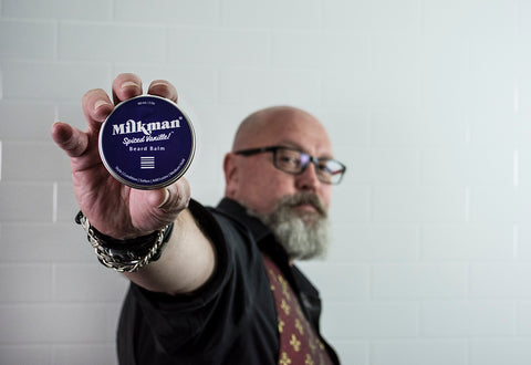 Rex with Milkman's Beard Balm
