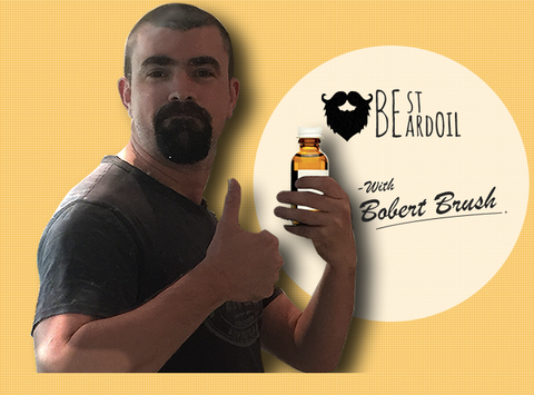 best beard oil with bobert brush