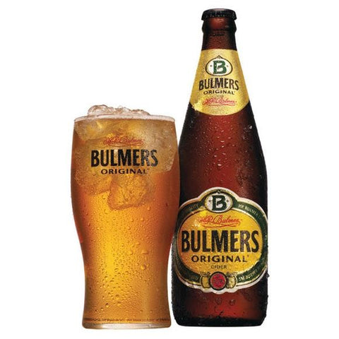 Bulmers Cider with glass