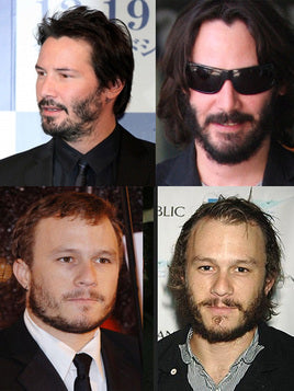 patchy beard examples, keanu reeves, Milkman Grooming Co.