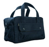 matte black designer canvas dopp bag for travel
