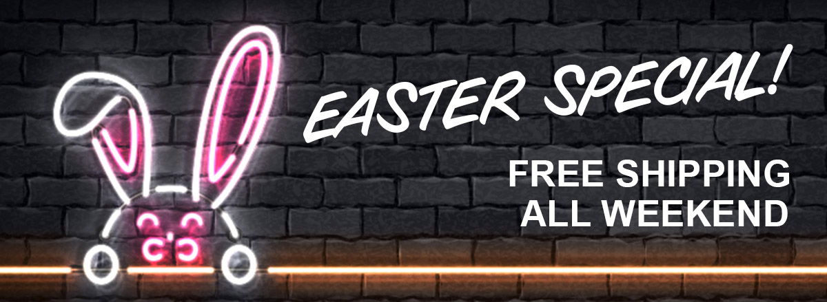 Enter voucher code EASTER at checkout