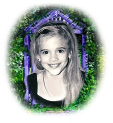 in memory of Bonnie Rose-the-inspiration-behind-the purple-wishing-gate