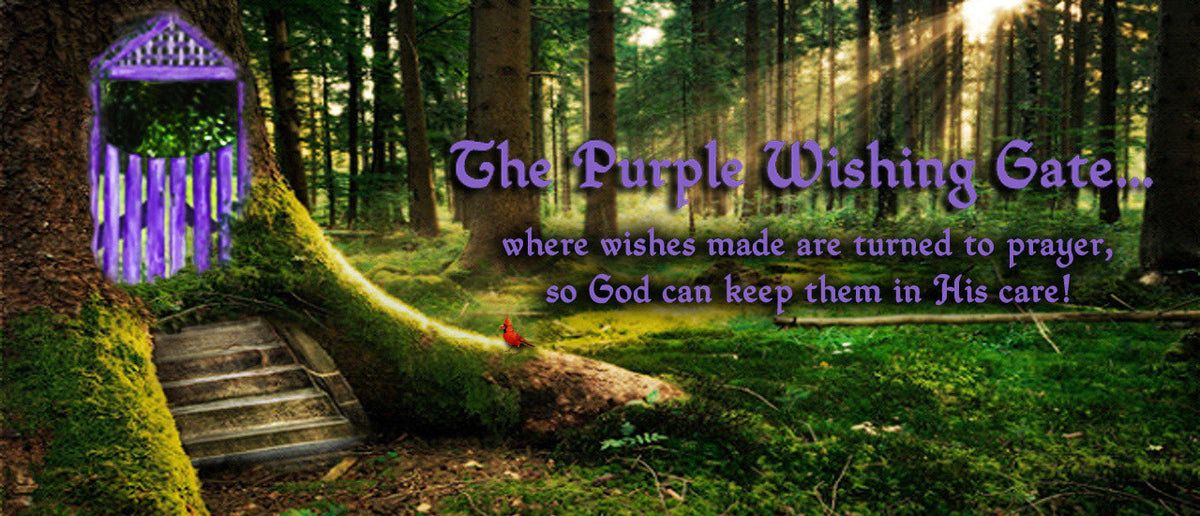 Purple Wishing Gate Blessing for Any Occasion