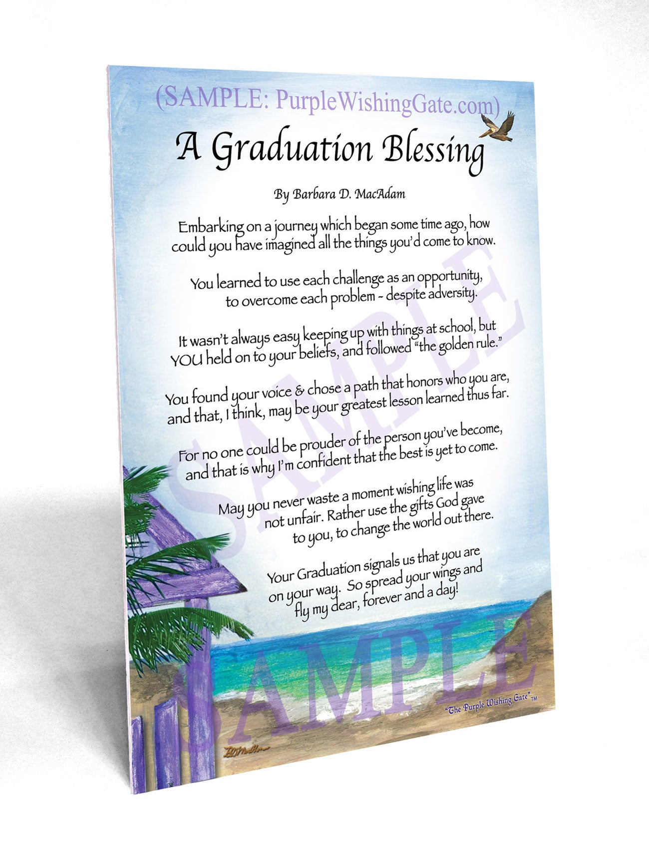 A Graduation Blessing Framed And Personalized Gifts