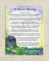 A Nurse's Blessing (8x10) - 8x10 Custom Matted Clearance - PurpleWishingGate.com