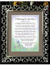 A Blessing for My Niece (baby) - Baby Gift - PurpleWishingGate.com