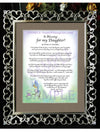 A Blessing for my Daughter! (child-adult) - Gifts for Daughter - PurpleWishingGate.com