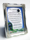 The Christmas Gift (with Silverleaf Frame) - Christmas Gift - PurpleWishingGate.com