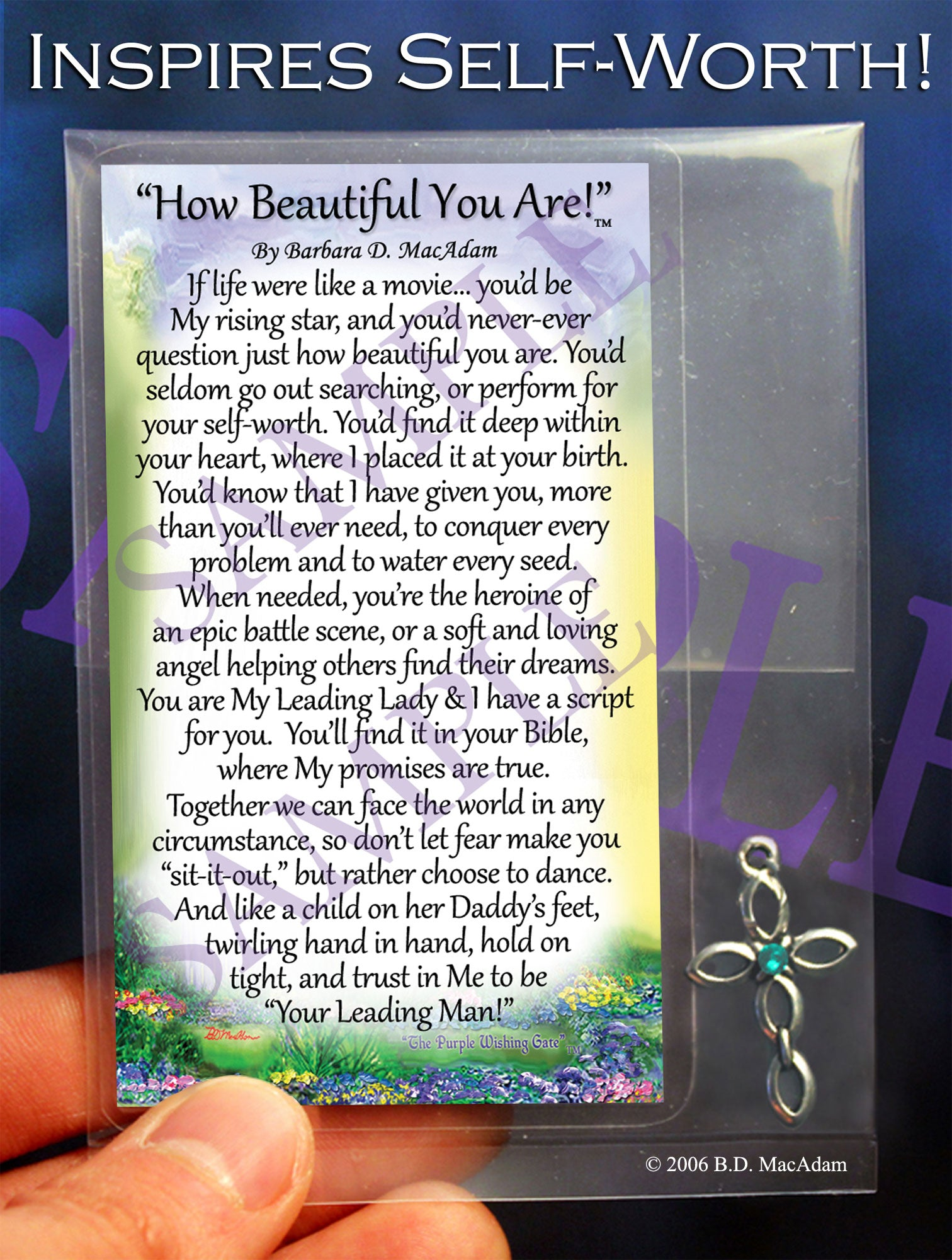 How Beautiful You Are - Pocket Blessing | PurpleWishingGate.com