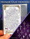A Military Blessing - Pocket Blessing | PurpleWishingGate.com
