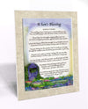 A Son's Blessing (8x10) - 8x10 Custom Matted Clearance - PurpleWishingGate.com