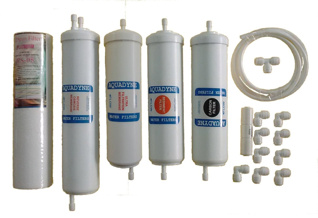 RO Service Filter Kit for Kent Ros (Contains UF Membrane, RO Pipe & Flow Restrictor)