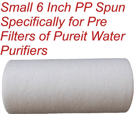 Aquadyne 6 inch Pre Filter Candle for Pureit Water Purifiers (Suitable for Pureit Classic Models)