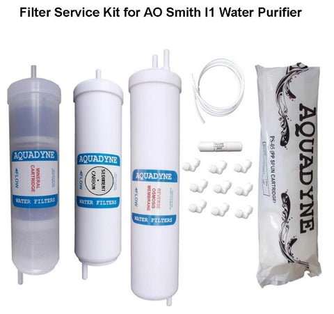 RO Filter Service Kit for AO Smith i1 Water Purifiers