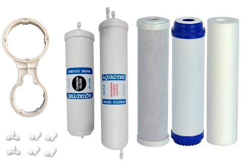 Filters for service of AO SMITH X5 Reverse Osmosis System