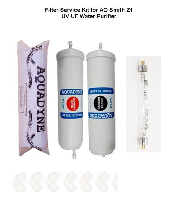 RO Filter Service Kit for AO Smith Z1 Water Purifiers