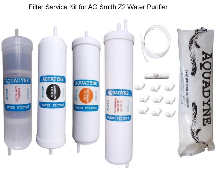 RO Filter Service Kit for AO Smith Z2 Water Purifiers