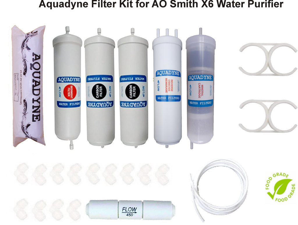 RO Filter Service Kit for AO Smith X6 Water Purifiers