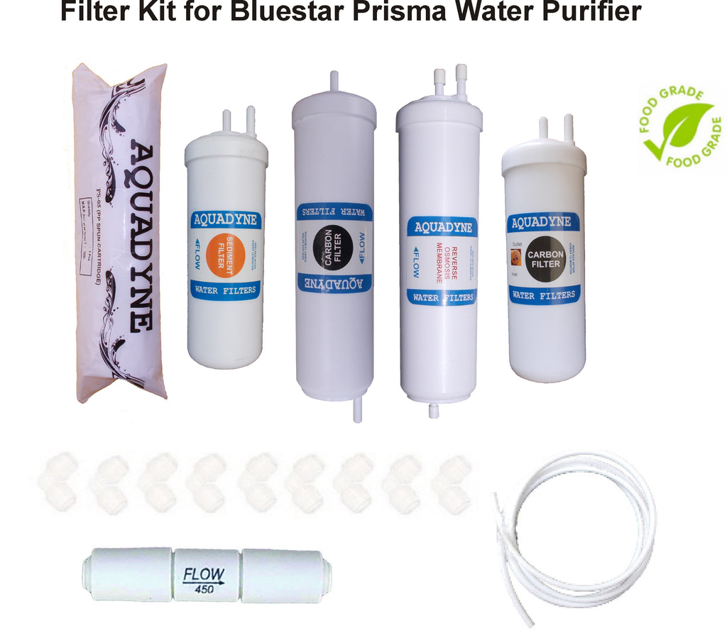 Complete RO Filter Service Kit for Bluestar Prisma Water Purifiers