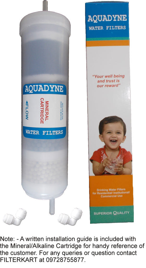 Aquadyne Mineral Cartridge/Alkaline Cartridge Filter for RO System