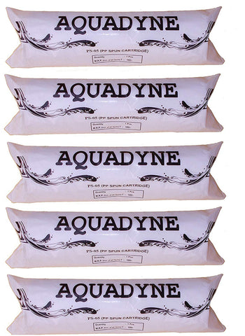 Aquadyne Spun Filter Platinum Series, 10 Inches, 5 Micron - 5 Pieces