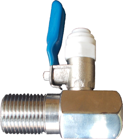 Diverter Valve Asembly (For converting 1/2 inch supply to 1/4 inch)