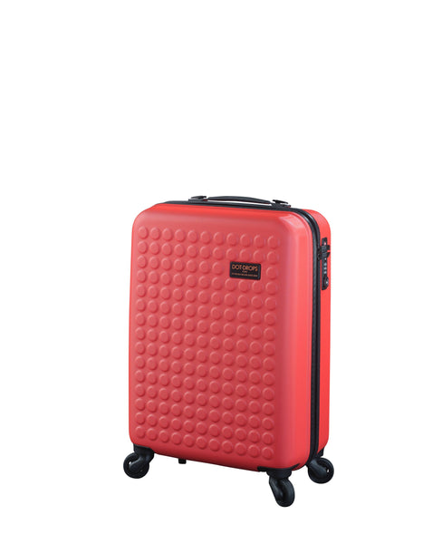 "Hardside 4-wheels suitcase Red (20"") 12144PC"