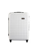 "Hardside 4-wheels suitcase White (24"") 12145PC"