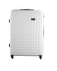 "Hardside 4-wheels suitcase White (29"") 12146PC"