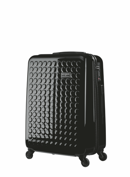 "HARDSIDE 4-WHEELS SUITCASE BLACK (25"" UPRIGHT) 12325PC"