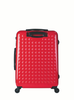 "HARDSIDE 4-WHEELS SUITCASE TORCH RED (25"" UPRIGHT) 12325PC"