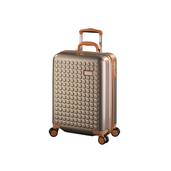 "Hardside 4-wheels suitcase Champagne (20"") 15124PC"